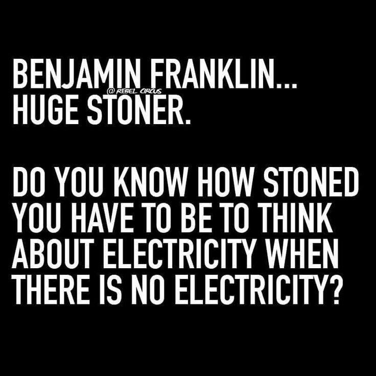Made me laugh ! Probably because I'm stoned right now! It's a good point though!