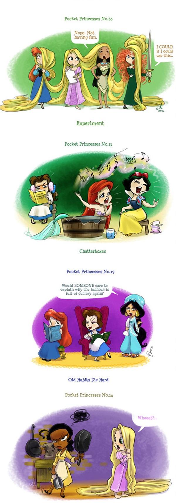 Pocket Princesses I think @Kaylan Mason would like the last one.