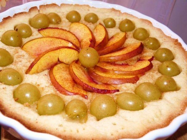 Okrúhly ovocný koláč (fotorecept) - obrázok 5