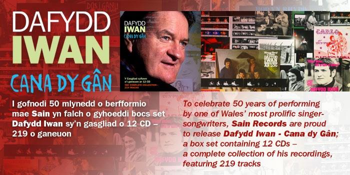Cyhoeddiadau newydd | New releases  Dafydd Iwan