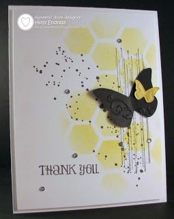 Dynamic Duos: DD#90 {Black & Yellow with the OPTION of a Shaped/Fun Card