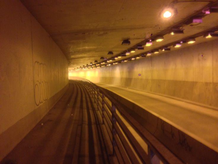 Tunnel de la rue du Fort - Montréal