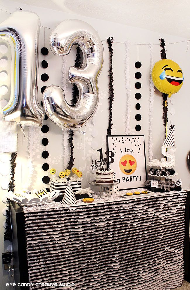25 best ideas about 13th birthday parties on pinterest for 13th birthday decoration ideas