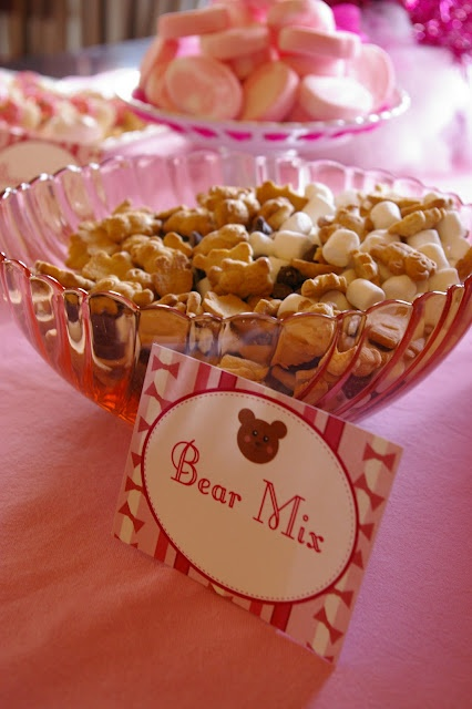 Teddy Bear Mix for a child's birthday party!