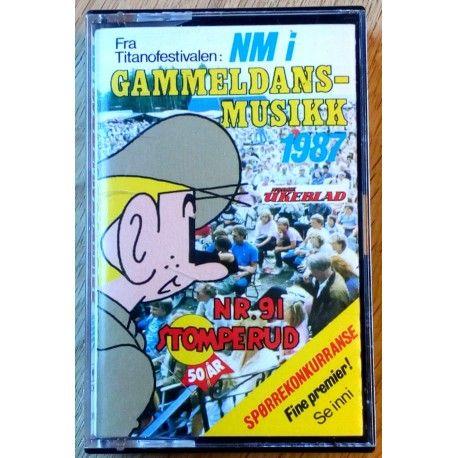 NM i gammeldansmusikk 1987: Titano Festivalen (kassett)