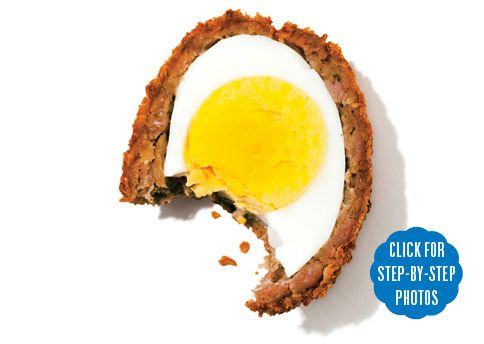 ... out Scotch Eggs. It's so easy to make! | Eggs, Over the and Sausages