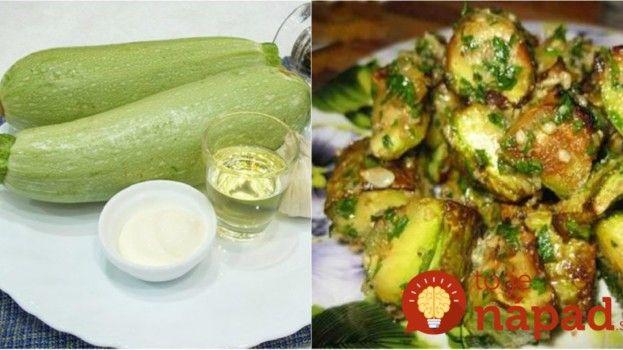 Toto robím v lete namiesto zemiakov, je to najlepšia príloha: Vyskúšajte restovanú cuketu s cesnakom!