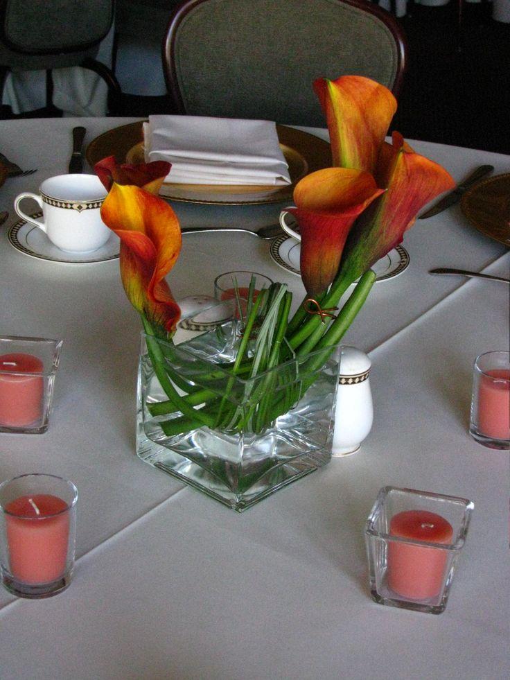 1000 ideas about calla centerpiece on pinterest calla purple calla lily centerpieces With Purple Center Calla Lily