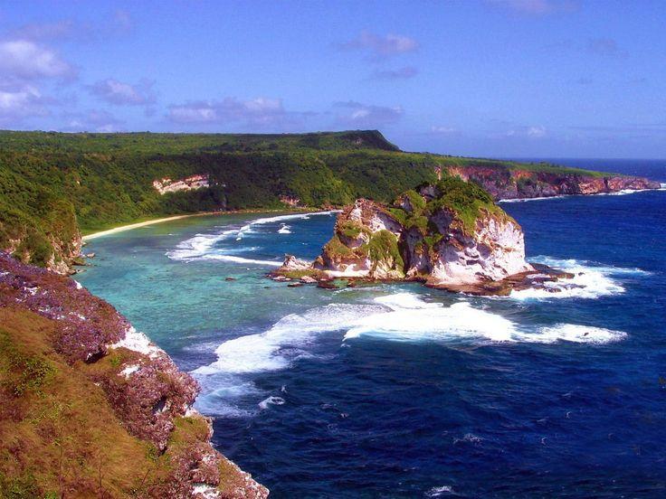 La costa di Saipan, Isole Marianne