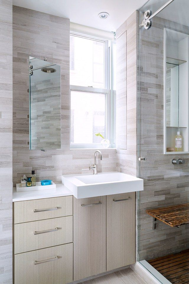 A Hidden Medicine Cabinet In The Wall Of The Master Bath Is In Keeping With  The