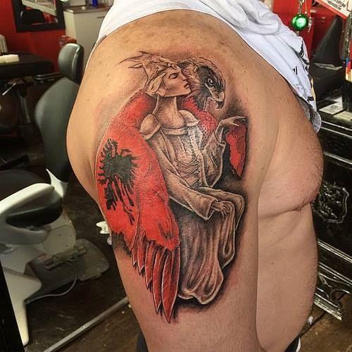 Albanian Tattoos www.Facebook.com/ALBANIANTATTOOS