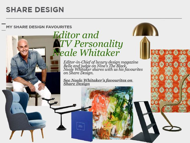 Neale Whitaker Shares His Favourites   Featured on Sharedesign.com