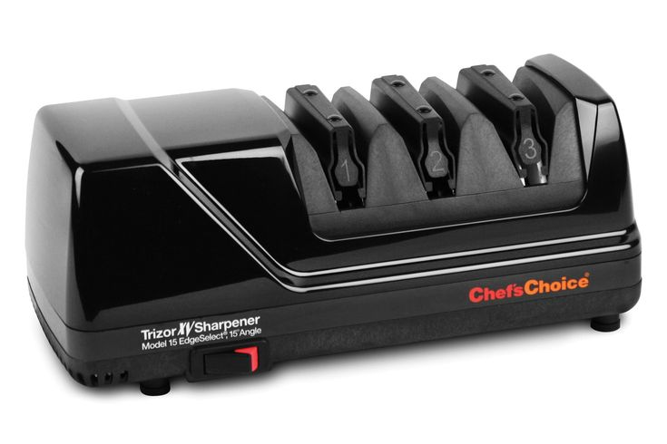 Chef's Choice Trizor Model 15 XV Electric Knife Sharpener, Black