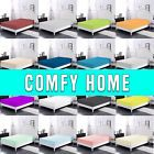 Comfy Home 100% Cotton Solid Color Fitted Sheet  All Seasons -Deep Pocket Spring2  Type - Fitted Sheets, Material - 100% Cotton, Pattern - Solid, Style - Modern, Thread Count - 200