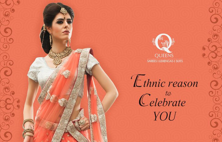 We give you the reasons to celebrate your ethnic persona. ‪#‎QueensEmporium‬ ‪#‎Sarees‬