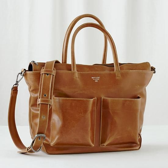 Matt & Nat leather diaper bag - if only it could convert to a backpack