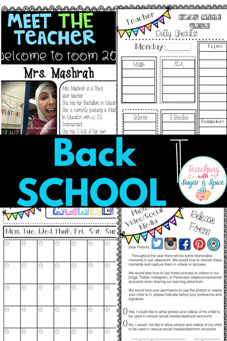 I know how busy we can get as we head back to school and as the school year starts. I have created this product with the BUSY teacher in mind! All you have to do is print and go, it saves you time and energy and everything is in ONE place. Who doesn't love that? 87 Pages of 2 sets Monthly News Letter Templates 3 weekly/ 2 daily sets Checklists  1  5 / 7 day Monthly Calendars Meet the Teacher Welcome Letter Parent Volunteer Forms 2 Social Media Release Form Student Information Form and much more