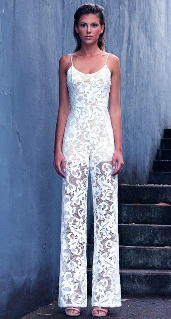WINONA AUSTRALIA - Queen of lace jumpsuit. www.winonaaustralia.com