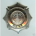 Maine State Police Badge