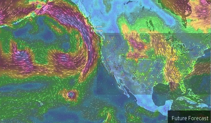 Fukushima Blob Powering Up Cyclone Storms Heading West Coast!
