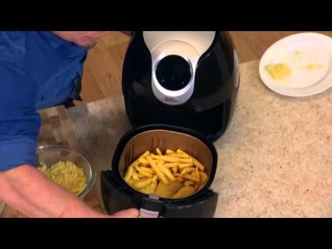 How to make fish and chips in the power airfryer xl for Air fryer fish