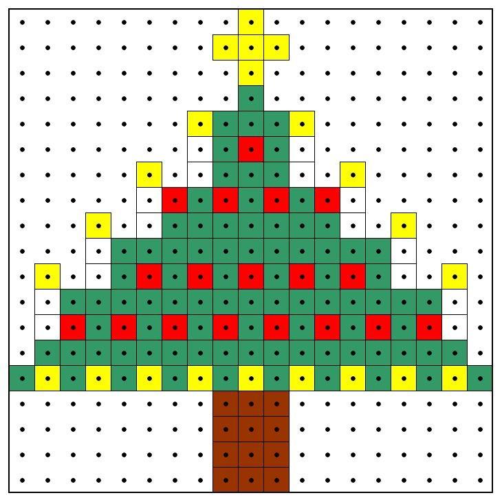 KleuterDigitaal - wb kralenplank kerstboom 03