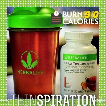 Herbalife tea concentrate. Burns 90 calories per serving. Tastes amazing with Crystal Light www.GoHerbalife.com/angela-black