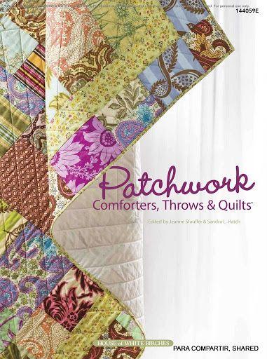 Patchwork. Comforters, throws & Quilts - Majalbarraque M. - Álbuns da web do Picasa...FREE BOOK!!