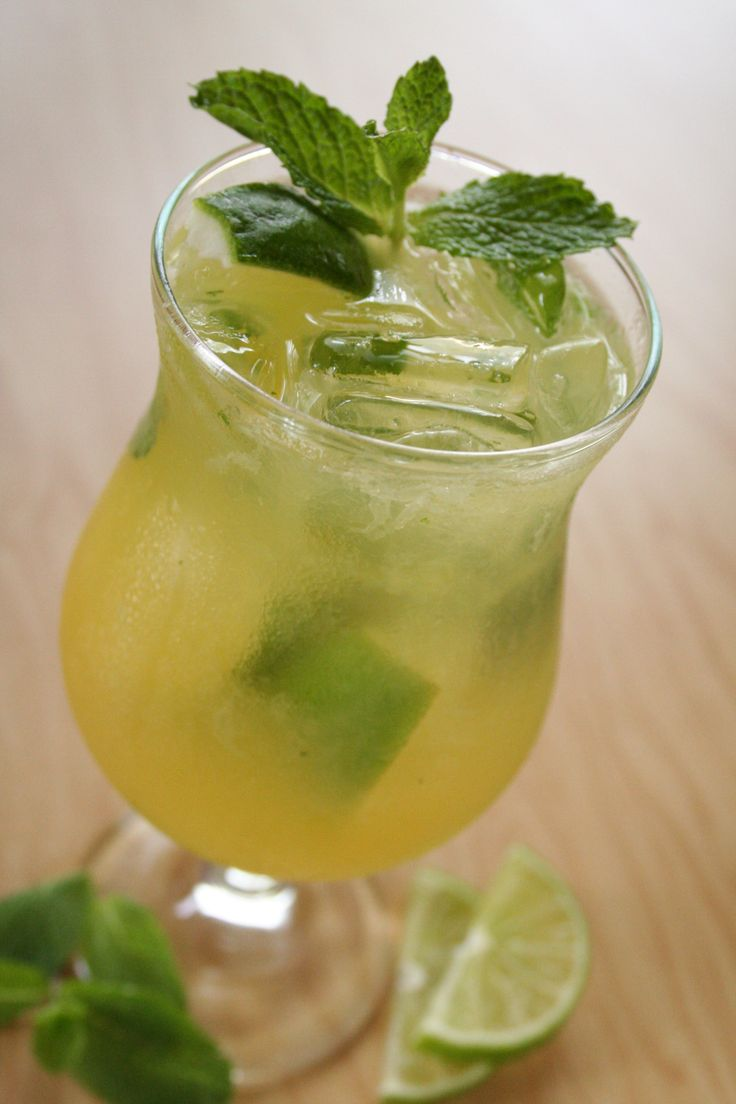 Mojito, Pineapple juice and Mango rum on Pinterest