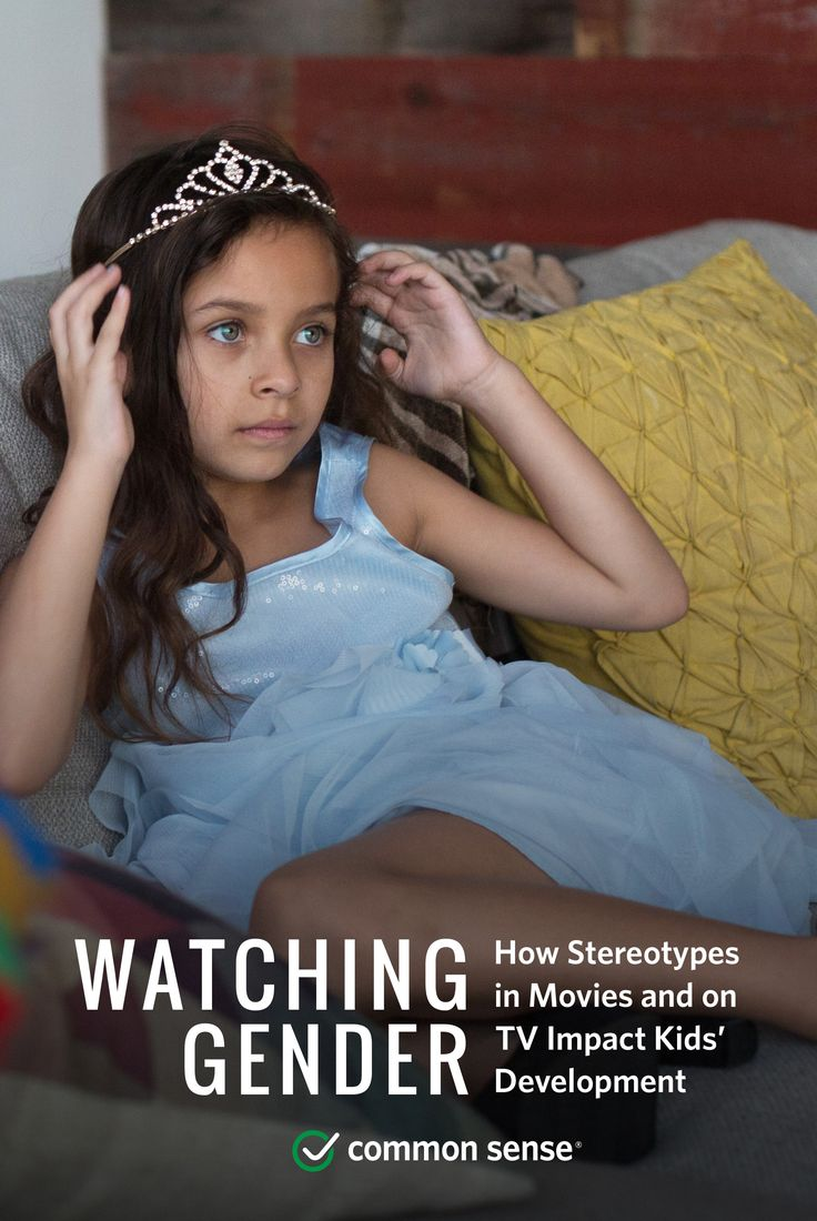 the effects of gender stereotyping on television A new common sense media study shows that learning gender roles from  movies and tv shows has real consequences on kids' self-esteem, relationships,  and.