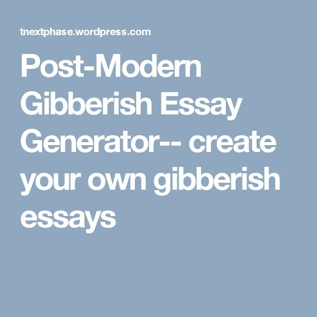 argument essay outline generator Essays - largest database of quality sample essays and research papers on online essay generator.