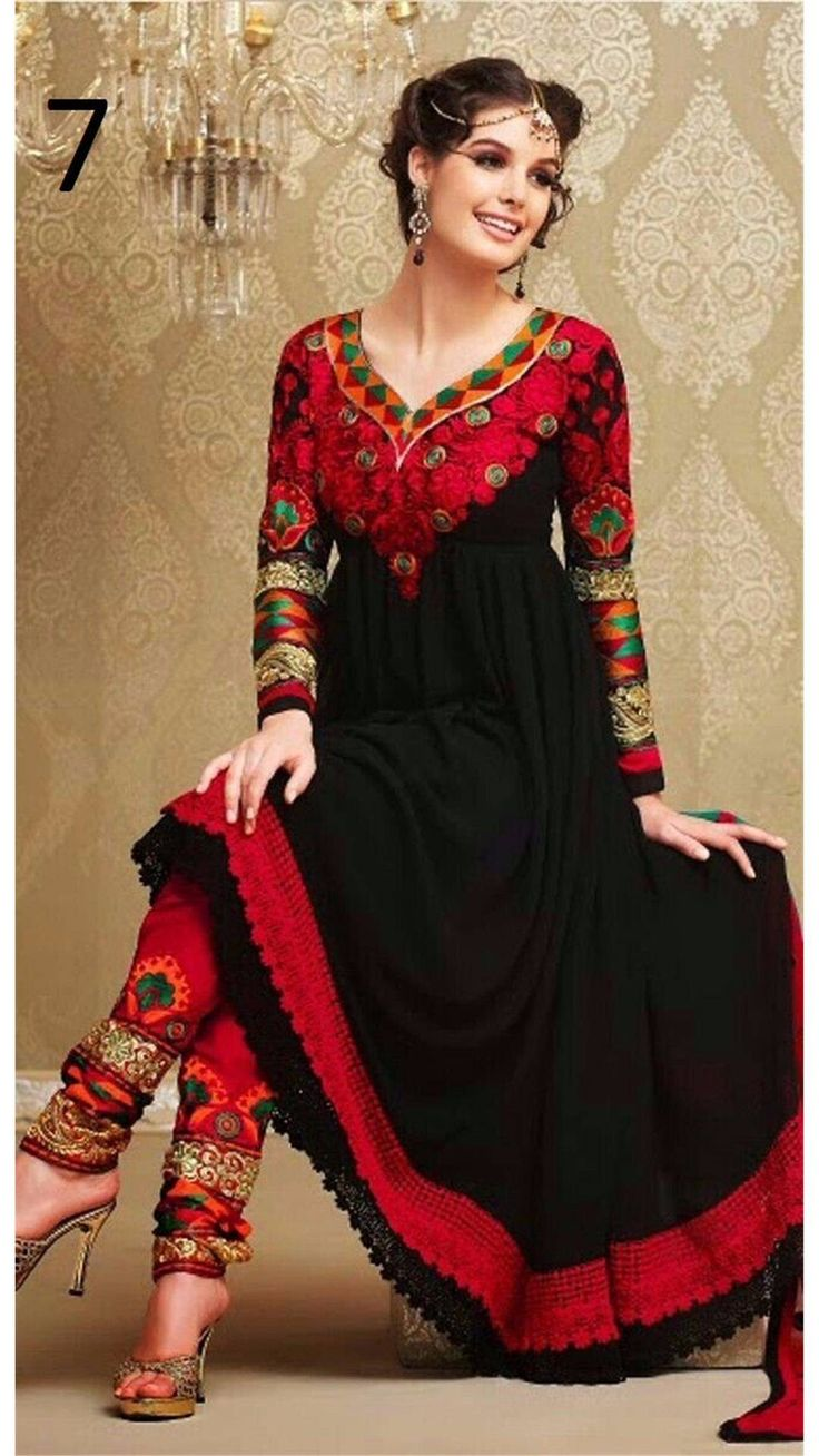 Buy Saiveera New Arrival Designer Black Georgette Semi-stitched Long Anarkali Salwar Suit Online at Low Prices in India - Paytm.com Saiveera Fashion is a #Manufacture Wholesaler,Trader, Popular Dealar and Retailar Of wide Range Salwarsuit,Dress Material,Saree,Lehnga Choli,Bollywood Collection Replica,Saree, Lehnaga CHoli and Also Multiple Purpose of Variety Such as Like #Churidar,Patiala,#Anarkali,Cotton,Georgette,Net,Pure Cotton Dress Material.For Any Other Query Call/Whatsapp…