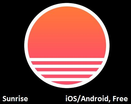 "Sunrise App for Adults with ADHD: ""Stay on schedule and be where you need to be, when you need to be there with Sunrise, a calendar app that syncs with your Google calendar and interfaces with Facebook, Evernote, and more so that you have everything you need to do in one, easy to view place."""