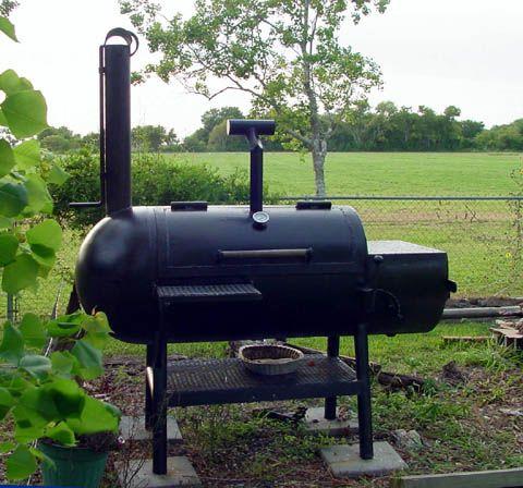 DIY smoker out of a propane tank