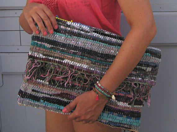Ready to Ship Laptop Sleeve. Boho Clutch Purse, Boho Kilim Bag. Envelope Clutch. Mobile Accessory. Boho Clutch. Gift for Her. Kourelou Bag.