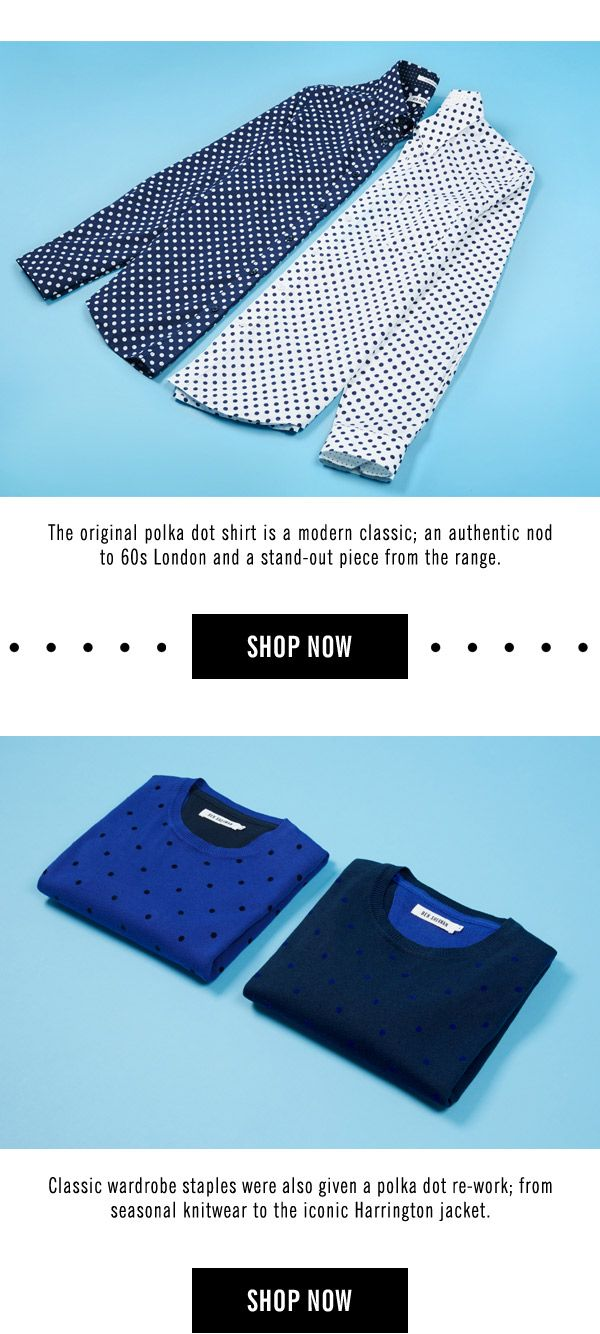 Ben Sherman Polka Dot Collection