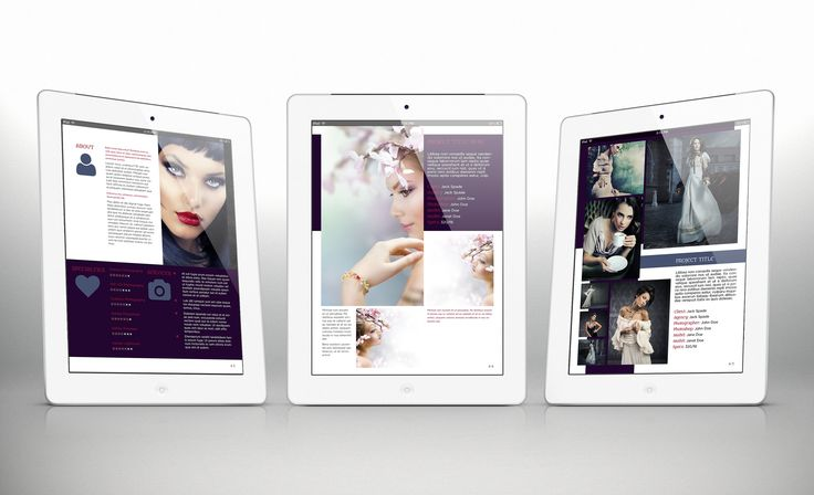 iPad Portfolio Template r3 for Indesign CS4 or Later