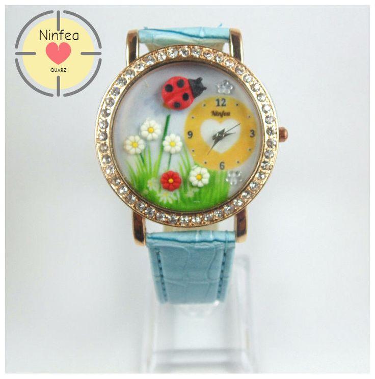 Un preferito personale dal mio negozio Etsy https://www.etsy.com/it/listing/523892920/orologio-modello-ladybug-3d-wristwatche