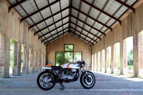 "Moto Guzzi 850 T3 Cafe Racer ""Ragazza"" by Nitro Cycles #motorcycles #caferacer #motos   caferacerpasion.com"