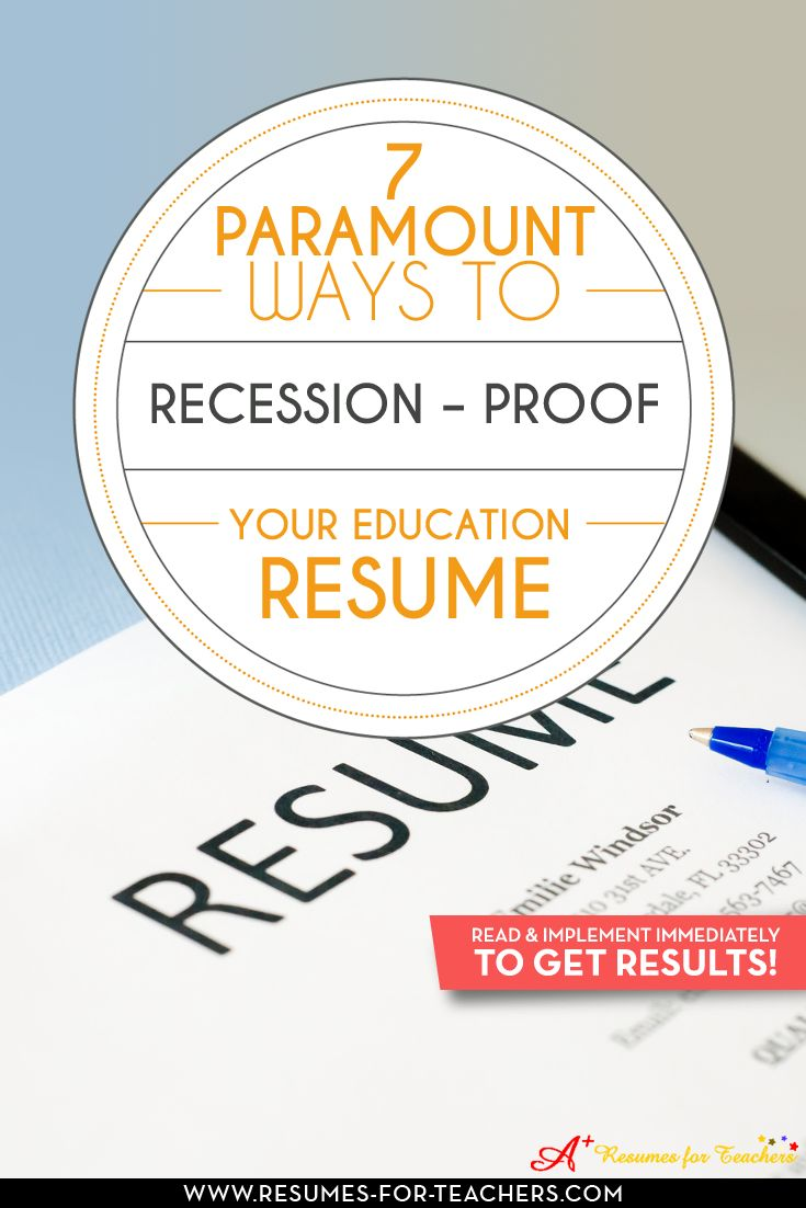 best images about resume writing tips for all occupations on tips to recession proof your teacher resume to survive an economic slump