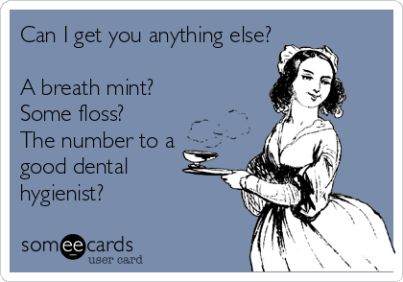 Oh man! How to tell someone they have smelly breath, politely.  www.myprecisiondental.com #dental #dentist