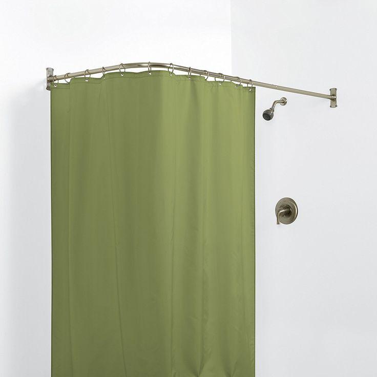 Gebogene Duschvorhang Schiene Dusch Bar Hoop Dusche
