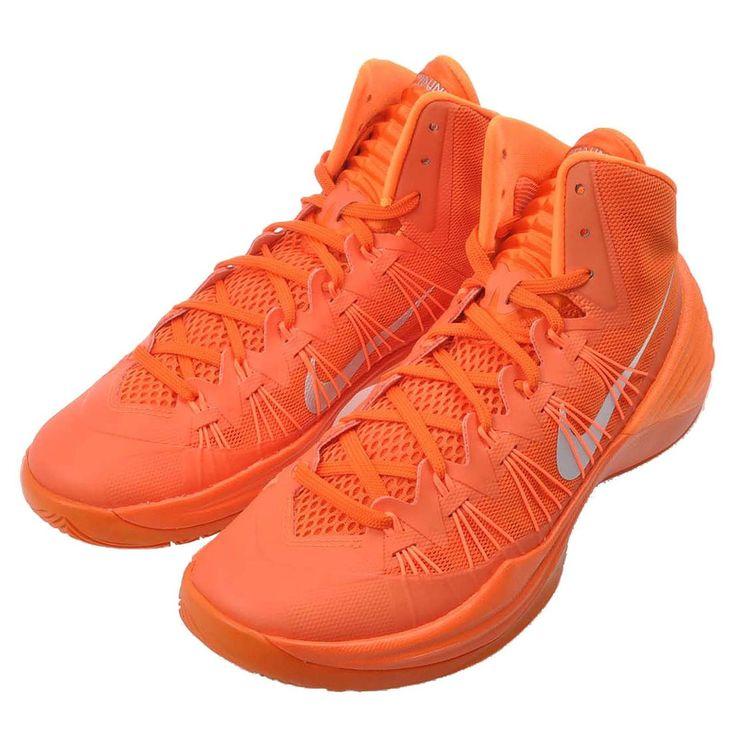 Nike Hyperdunk Brilliant Orange/Metallic Gray Basketball Mens Size 14 Shoes