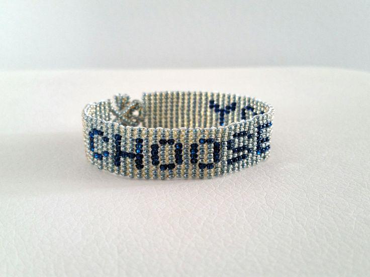 Sleek Grey Beaded Bracelet; Grey Bracelet; Grey Seed Bead Jewelry; Bracelet With Meaning; Girl's jewelry by HelloHomeAtelier on Etsy