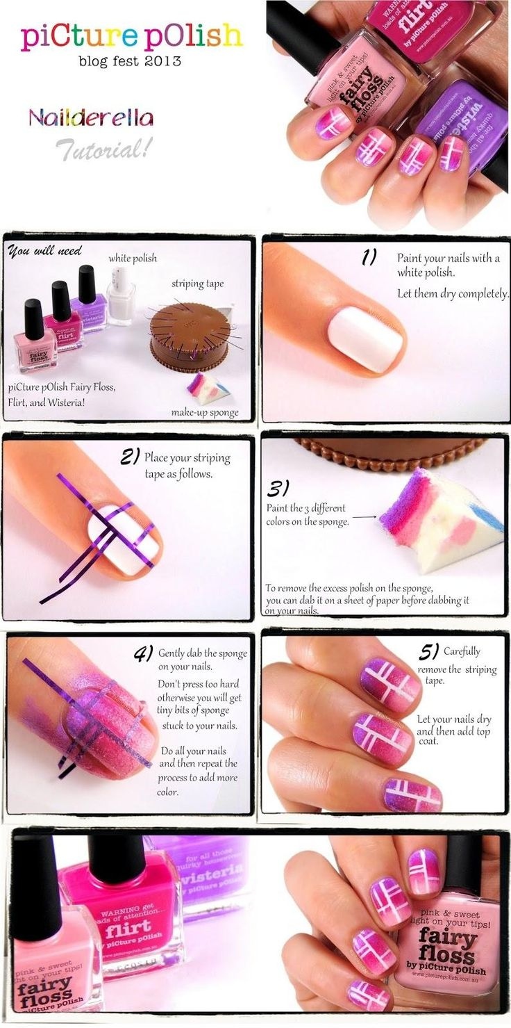 TUTORIAL – Pink Dreams Nail Art #nails #fashion #nailart @katerinamaslaro