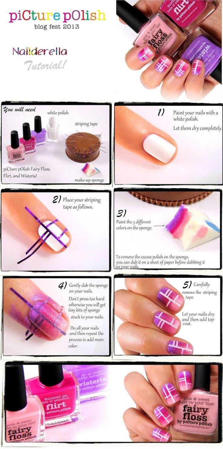 TUTORIAL – Pink Dreams Nail Art #nails #fashion #nailart @katerinamaslaro