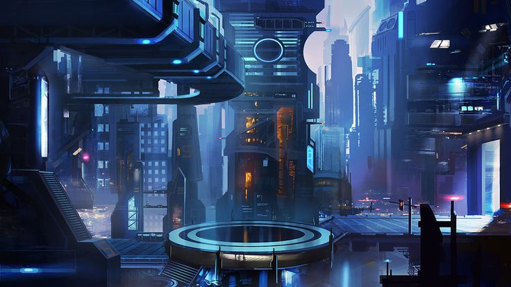 Futuristic City, Sci-Fi City 2 by mrainbowwj on deviantART