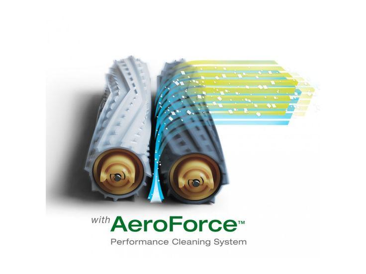 iRobot szabadalmazott AeroForce takarító rendszer.