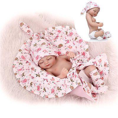 Reborn-Girl-Baby-Sleeping-Baby-Full-Body-Silicone-Doll-Newborn-Realistic-Alive
