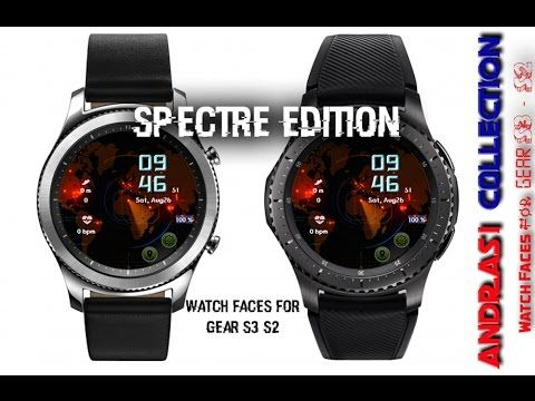 Spectre Edition - watch faces for Gear S3 & S2 - Andrasi.ro